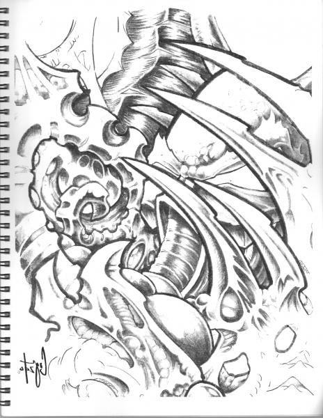 Rich Cosgrove - Biomechanik--Sketchbook